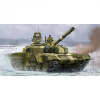 Trumpeter 09507 Сборная модель танка Russian T-72B2 MBT (ROGATKA) (1:35)
