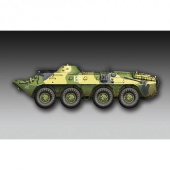 Trumpeter 07138 Сборная модель БТР Russian BTR-70 APC late version (1:72)