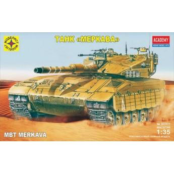 Модель танка Меркава