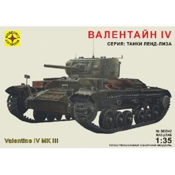 Модель танка Валентайн IV