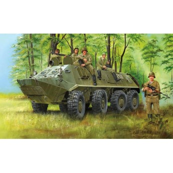 Trumpeter 01543 Сборная модель бронетранспортера БТР-60ПА (1:35)