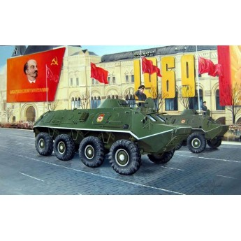 Модель бронетехники БТР-60ПБ