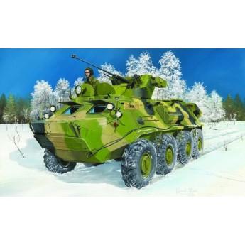 Trumpeter 01545 Сборная модель бронетранспортера BTR-60PB Upgraded (1:35)
