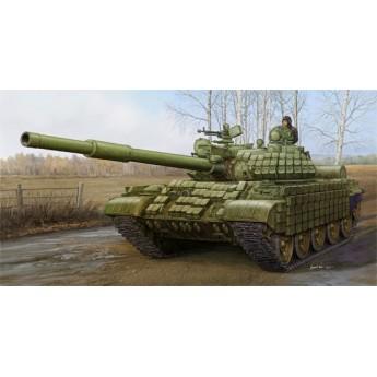 Trumpeter 01556 Сборная модель танка T-62 с динамической защитой мод 1972 (1:35)