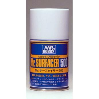 Краска-грунтовка в баллончиках Mr.SURFACER 500 100мл
