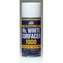 Краска-грунтовка в баллончиках Mr.WHITE SURFACER 1000 170мл
