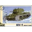 PST 72012 Сборная модель тяжелого танка КВ-1 (1:72)