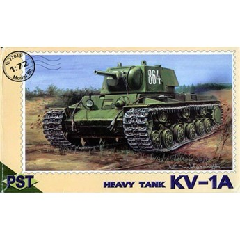 PST 72013 Сборная модель тяжелого танка КВ-1-А (1:72)