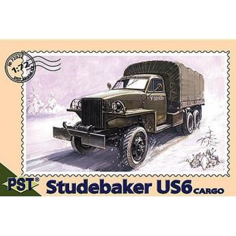 PST 72022 Сборная модель грузовика Studebaker US6 Cargo (models U3/U4) (1:72)