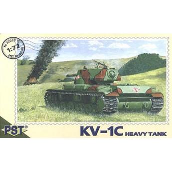 PST 72035 Сборная модель тяжелого танка КВ-1Ц (1:72)