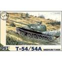 PST 72045 Сборная модель среднего танка T-54 (1:72)