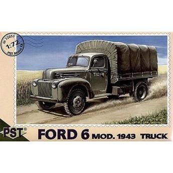 PST 72051 Сборная модель грузовика FORD 6 mod.1943 (1:72)