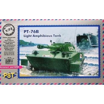 PST 72053 Сборная модель легкого плавающего танка ПТ-76 (1:72)