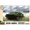PST 72054 Сборная модель бронетранспортера БТР-50 ПК (1:72)