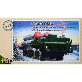 PST 72055 Сборная модель МПУ 5П85Д зенитно ракетного комплекса С-300ПМУ (SA-10 GRUMBLE) (1:72)