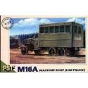 PST 72056 Сборная модель полевой мастерской M16A АМ Studebaker US6 (1:72)