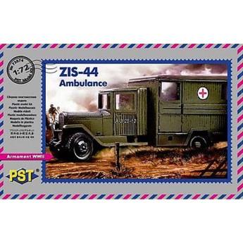 PST 72074 Сборная модель грузовика ЗиС-44 санитарный (1:72)