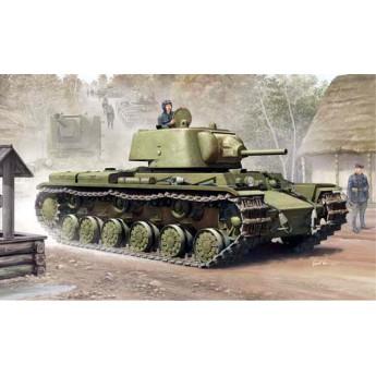 Trumpeter 01561 Сборная модель танка КВ-1 модель 1939 г (1:35)