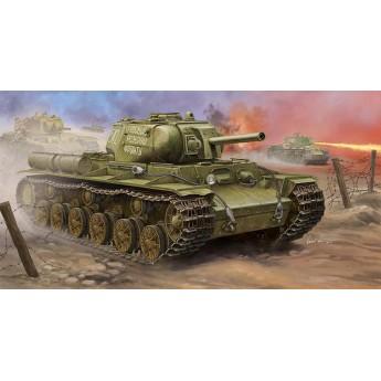 Trumpeter 01572 Сборная модель танка Soviet KV-8S Heavy Tank (1:35)