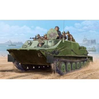 Модель бронетехники БТР-50ПК