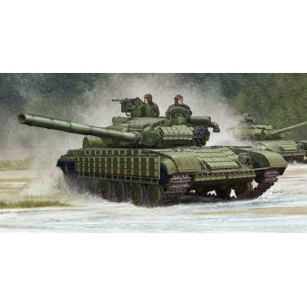Trumpeter 05522 Сборная модель танка T-64БВ мод 1985 г (1:35)