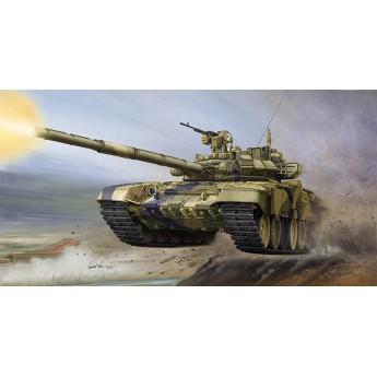 Модель танка Т-90А с литой башней (1:35)