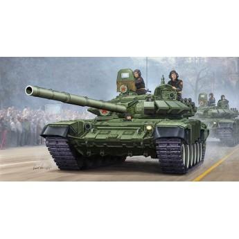 Модель танка Т-72Б мод 1989 с литой башней (1:35)