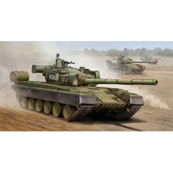 Модель советского танка T-80Б (1:35)