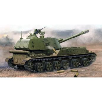 """Trumpeter 05567 Сборная модель САУ 152 мм 2С3 """"Акация"""" поздний выпуск (1:35)"""