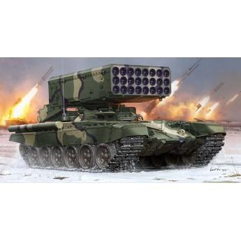 Модель танка Russian TOS-1 24-Barrel Multiple Rocket Launcher (1:35)