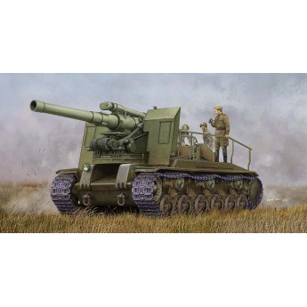 Модель САУ Soviet S-51 Self-Propelled Gun (1:35)