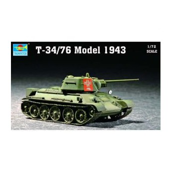 Trumpeter 07208 Сборная модель танка Т-34/76 мод 1943 г (1:72)