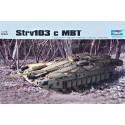 Trumpeter 07220 Сборная модель танка Strv-103c (1:72)