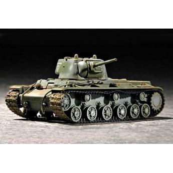 Модель танка КВ-1 1942 г. с легкой башней (1:72)