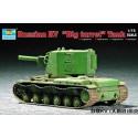 Trumpeter 07236 Сборная модель танка КВ-1 с тяжелой башней (1:72)