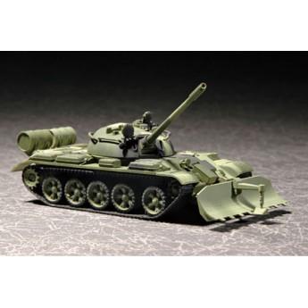 Модель танка Т-55 с БТУ-55 (1:72)
