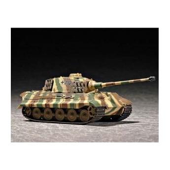 """Модель танка """"Кингтигр""""(башня Хеншель) с циммеритом (1:72)"""