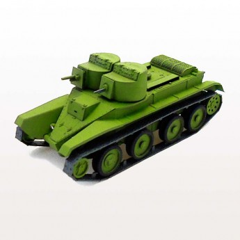 Soviet Armour SA129 Готовая модель танка БТ-4 (1:72)