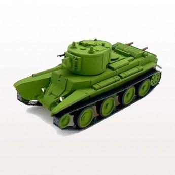 Soviet Armour SA137 Готовая модель танка БТ-7А с пушкой Л-11 (1:72)
