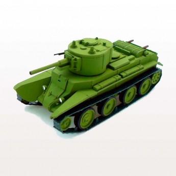 BT-7А Soviet Light Tank with F-32 Gun