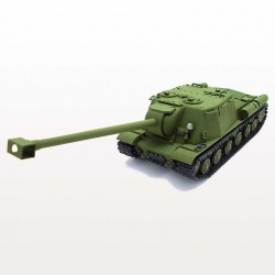ISU-130 Soviet Heavy SPG