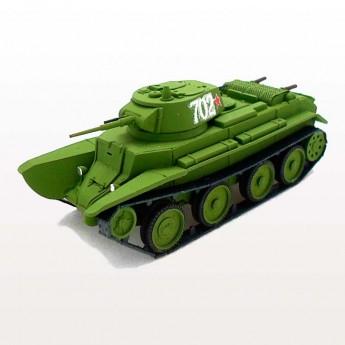 Soviet Armour SA409 Готовая модель танка БТ-7 (1937) (1:72)