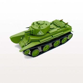Soviet Armour SA410 Готовая модель танка БТ-7А (with art. turret) (1:72)